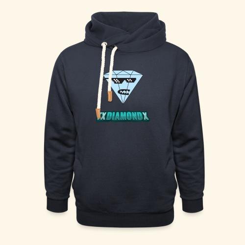 Txdiamondx Diamond Guy Logo - Unisex Shawl Collar Hoodie