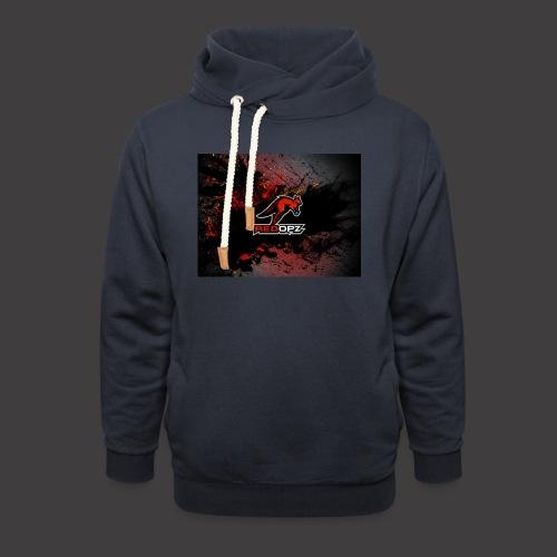 RedOpz Splatter - Unisex Shawl Collar Hoodie