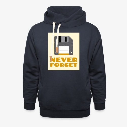 Never Forget - Unisex Shawl Collar Hoodie