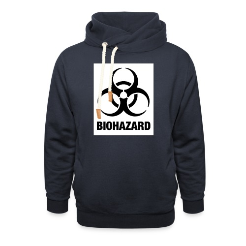 Biohazard - Shawl Collar Hoodie