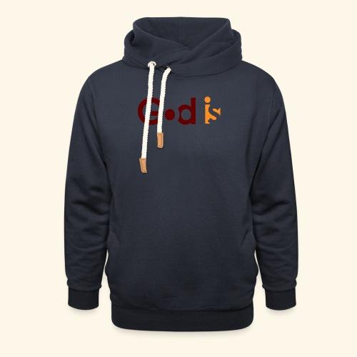 GOD IS #5 - Shawl Collar Hoodie