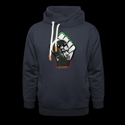 Huey Newton RBG Fist - Shawl Collar Hoodie