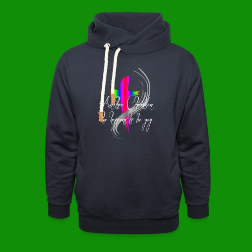 Another Gay Christian - Unisex Shawl Collar Hoodie