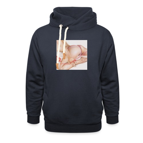 On da phone - Shawl Collar Hoodie