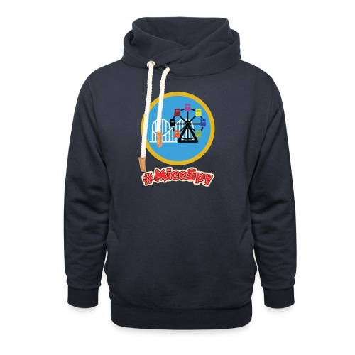 Paradise Pier Explorer Badge - Shawl Collar Hoodie