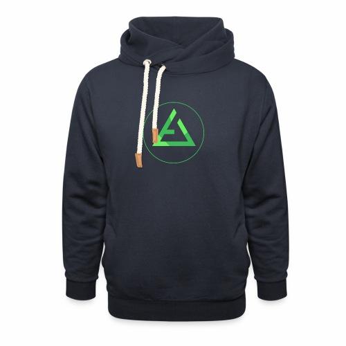 crypto logo branding - Shawl Collar Hoodie