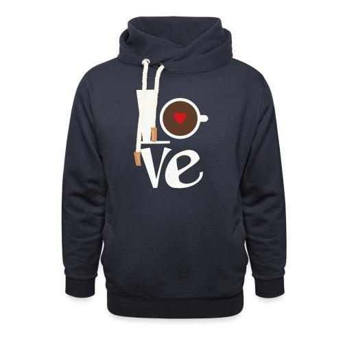 Love Coffee - Shawl Collar Hoodie