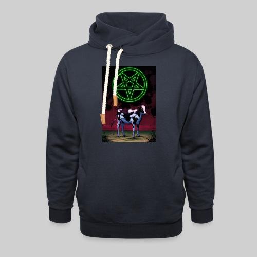 Satanic Cow - Unisex Shawl Collar Hoodie