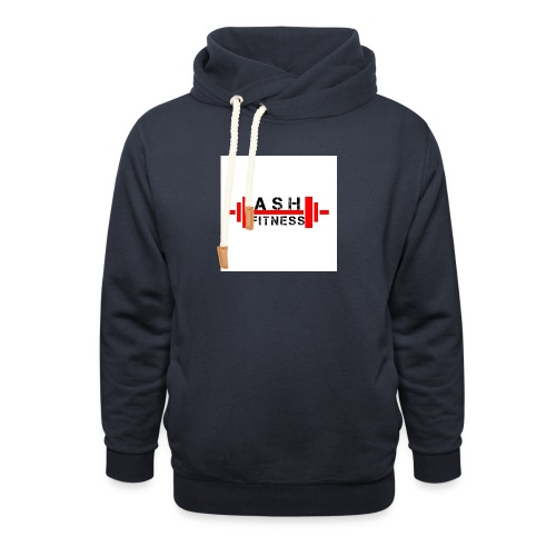 ASH FITNESS MUSCLE ACCESSORIES - Shawl Collar Hoodie