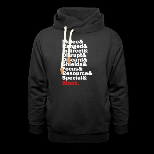 Discard to Reroll - Sides of the Die - Unisex Shawl Collar Hoodie