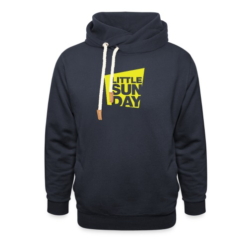 littleSUNDAY Official Logo - Shawl Collar Hoodie