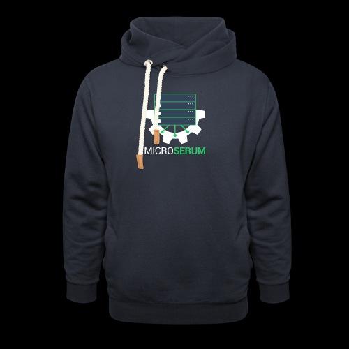 microserum-2 - Shawl Collar Hoodie