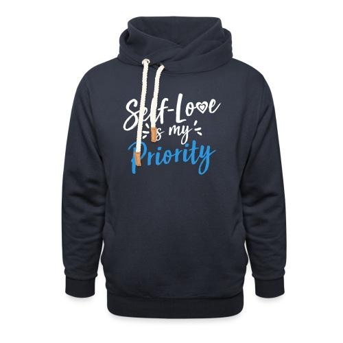 Self-Love is My Priority Shirt Design - Shawl Collar Hoodie
