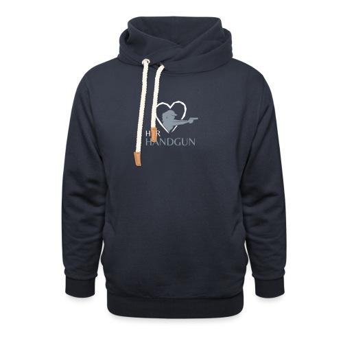 Official HerHandgun Logo - Unisex Shawl Collar Hoodie