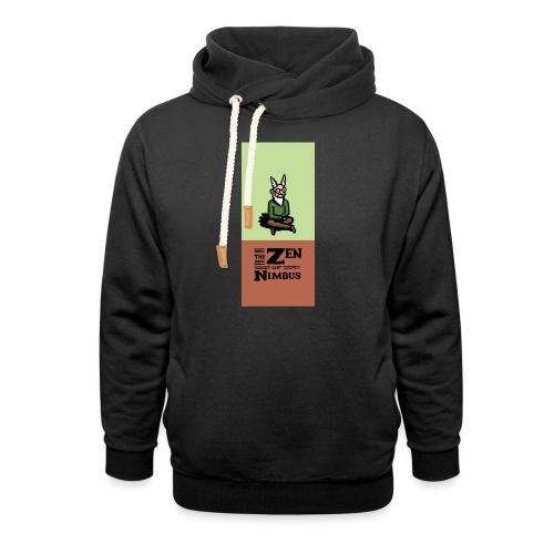 Nimbus and logo full color vertical format - Unisex Shawl Collar Hoodie