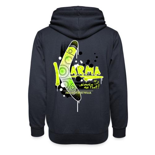 KARMA - Unisex Shawl Collar Hoodie