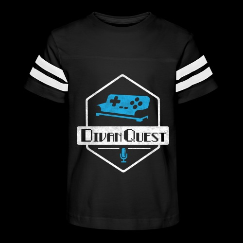 DivanQuest Logo (Badge) - Kid's Vintage Sport T-Shirt