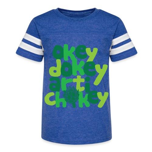 Okey Dokey Artichokey - Kid's Vintage Sport T-Shirt