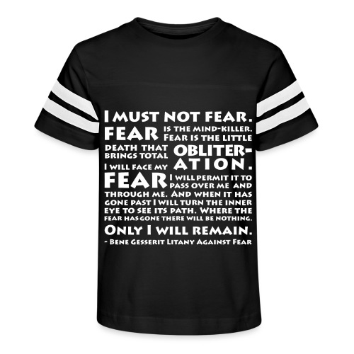 Litany Against Fear - Kid's Vintage Sport T-Shirt