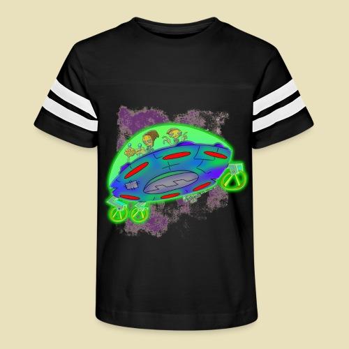 Ongher's UFO Flying Saucer - Kid's Vintage Sport T-Shirt