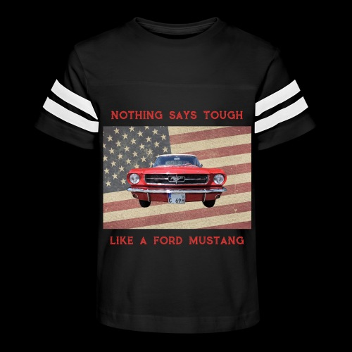 Mustang Tough - Kid's Vintage Sport T-Shirt