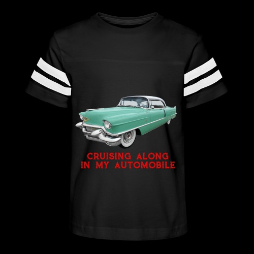 CRUISING ALONG - Kid's Vintage Sport T-Shirt