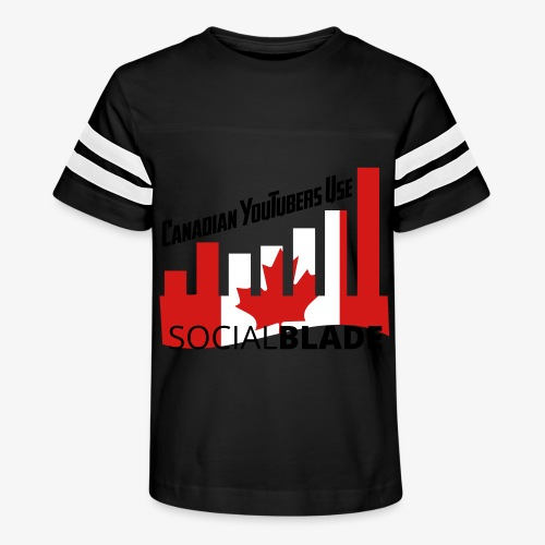 Canadian YouTubers - Kid's Vintage Sport T-Shirt