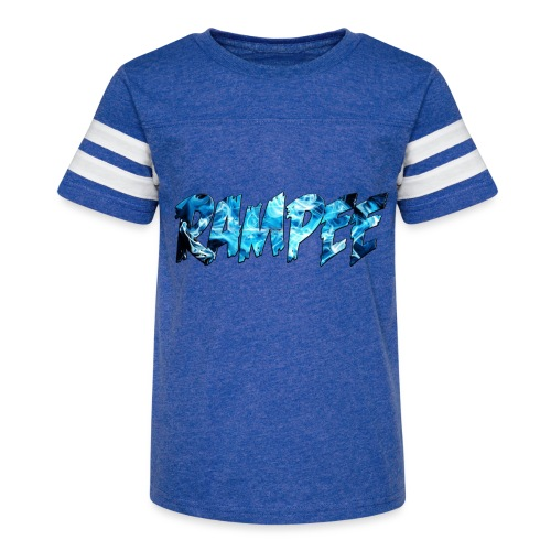 Blue Ice - Kid's Vintage Sport T-Shirt