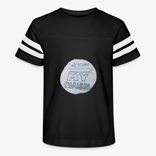 Welcome To My Channel - Kid's Vintage Sport T-Shirt