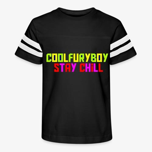 CoolFuryBoy - Kid's Vintage Sport T-Shirt