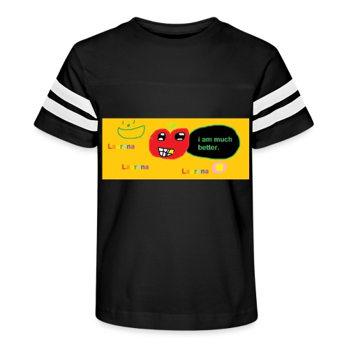 pechy vs apple - Kid's Vintage Sport T-Shirt