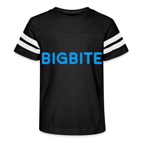 Toddler BIGBITE Logo Tee - Kid's Vintage Sport T-Shirt