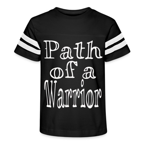Path of a Warrior - Kid's Vintage Sport T-Shirt