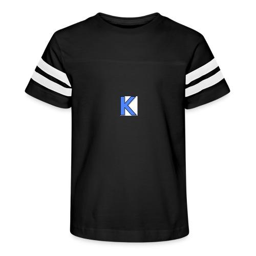 Kickstarkid K - Kid's Vintage Sport T-Shirt