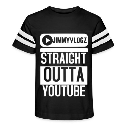 Straight Outta YouTube Merch! - Kid's Vintage Sport T-Shirt