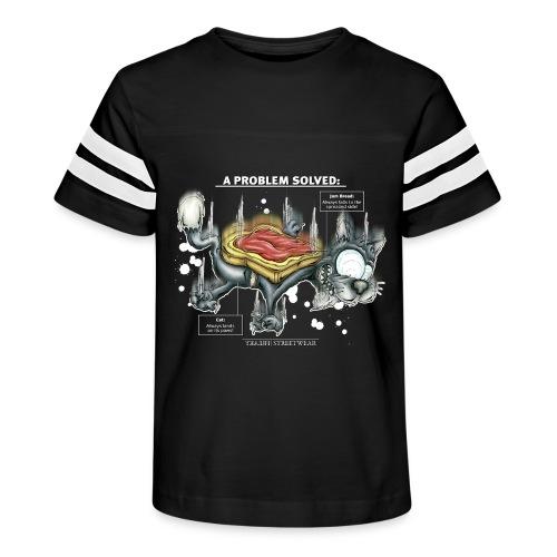 Der Problemlöser_E - Kid's Vintage Sport T-Shirt