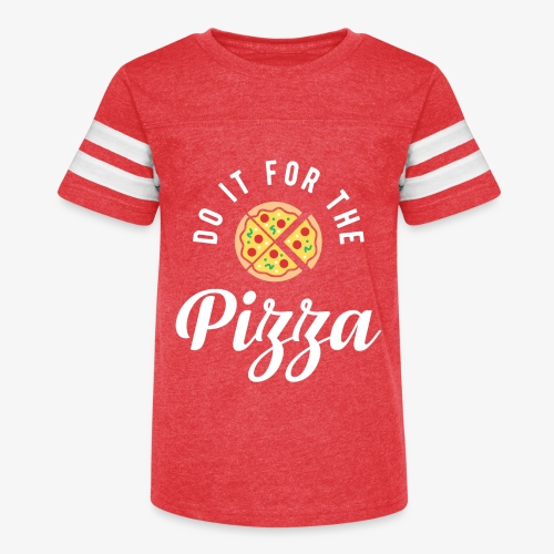 Do It For The Pizza - Kid's Vintage Sport T-Shirt