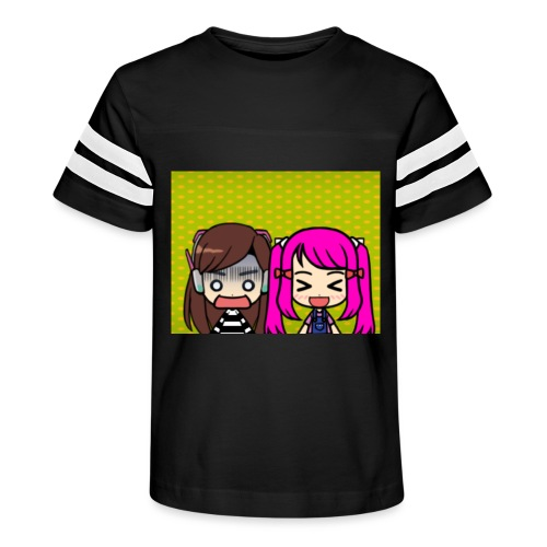 Phone case merch of jazzy and raven - Kid's Vintage Sport T-Shirt