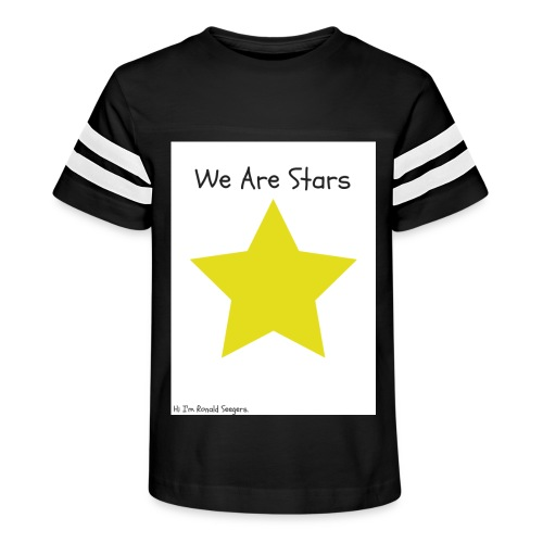 Hi I'm Ronald Seegers Collection-We Are Stars - Kid's Vintage Sport T-Shirt
