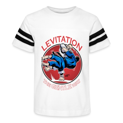 Judo Levitation for dark shirt - Kid's Vintage Sport T-Shirt
