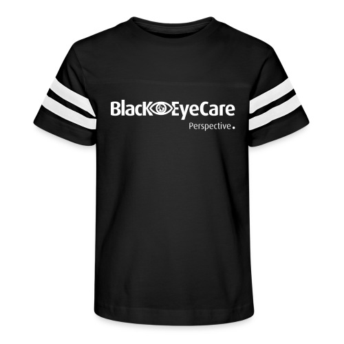 02 BlackEYeCareLogo Transparent 2 - Kid's Vintage Sport T-Shirt