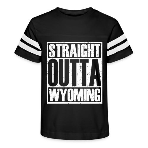 Straight Outta Wyoming - Kid's Vintage Sport T-Shirt