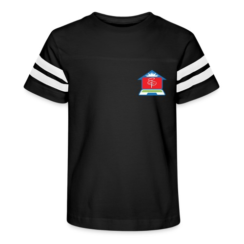 EP Logo Only - Kid's Vintage Sports T-Shirt