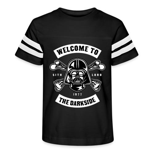 Darth Vader Dark Side - Kid's Vintage Sport T-Shirt