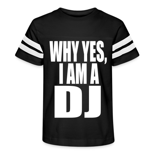 WHY YES I AM A DJ - Kid's Vintage Sport T-Shirt
