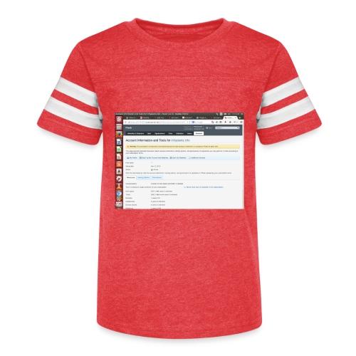 Screenshot from 2016 09 07 02 14 53 - Kid's Vintage Sport T-Shirt