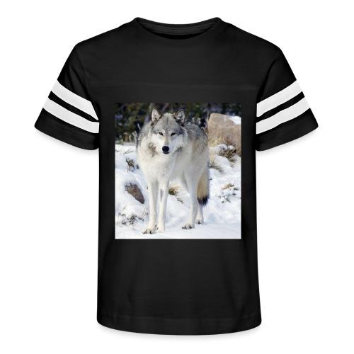 Canis lupus occidentalis - Kid's Vintage Sport T-Shirt