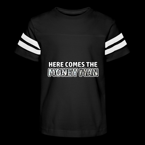 Here Comes The Money Man - Kid's Vintage Sport T-Shirt