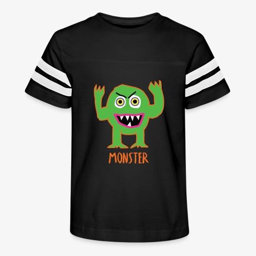Monster - Kid's Vintage Sport T-Shirt