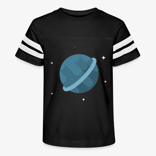 Tiny Blue Planet - Kid's Vintage Sport T-Shirt